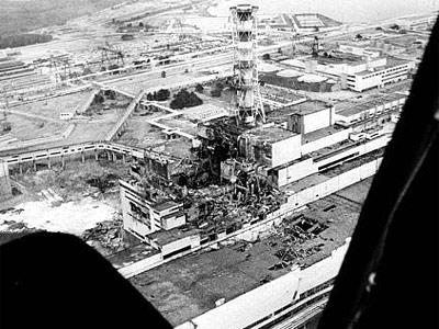 aerial Chernobyl