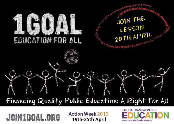 Education For All – Global Action Week 2010 – Capacity Building ...